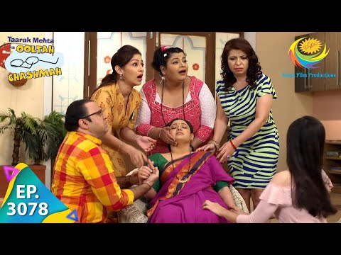 Taarak Mehta Ka Ooltah Chashmah - Ep 3078 - Full Episode - 12th January, 2021