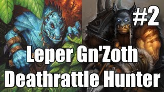 This deck is trying to kill people with Leper Gnomes, then maybe even play N'Zoth and kill them with some more Leper Gnomes.
