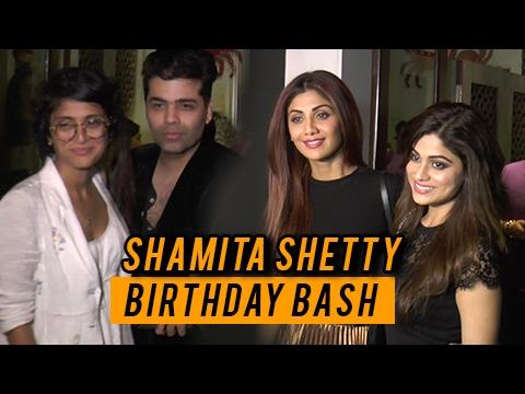 Shilpa Shetty Sister Shamita Shetty Birthday Bash
