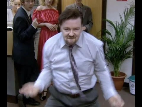 THE David Brent Dance - The Office - BBC
