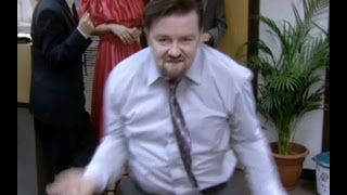 THE David Brent Dance  The Office  BBC