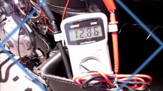 6. Testing Alternator Output and Battery Voltage of Royal Enfield Motorcycle G5
