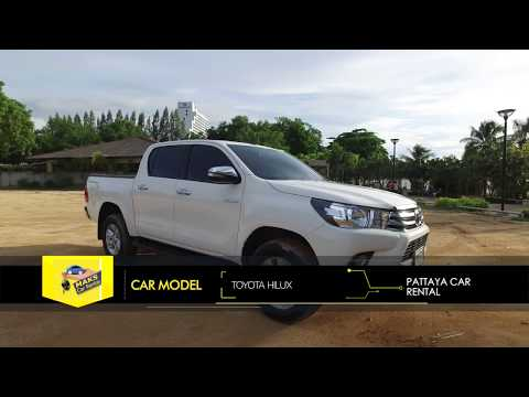 Rent a car NEW Toyota Hilux (17-18) Video