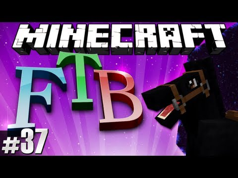 Minecraft Feed The Beast #37 – Roger & the Portable Hole