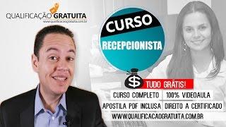 CURSO RECEPCIONISTA