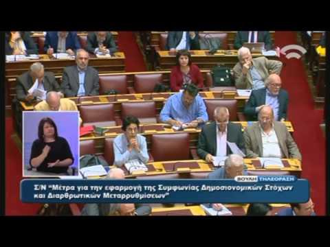 Πολυνομοσχέδιο: Ομιλία Α.Παπαδόπουλου (Εισ.ΣΥΡΙΖΑ)(15/10/2015)