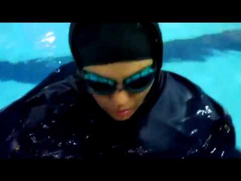 پیام شناگر زن ایرانی: تسلیم حرف زور نمیشم