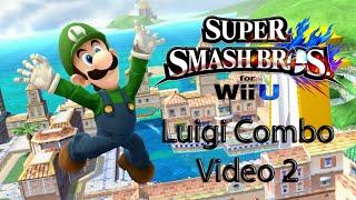SSB4 Luigi Combo Video