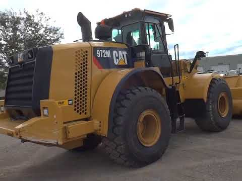 CATERPILLAR WHEEL LOADERS/INTEGRATED TOOLCARRIERS 972M equipment video p6L7Nj-Lhzs