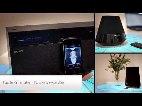 Sony Cinema Maison Blu ray et Telecommande Universelle (HomeShare) FR