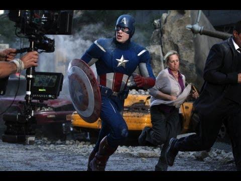 En glimt bakom effekterna ifrån The Avengers