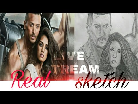 #1 Live  Video Baghi2 Sketches