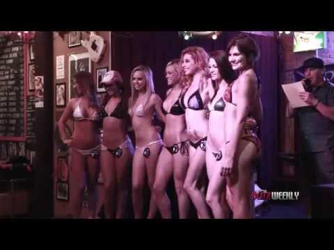 UT/OU Bikini Contest at Dick's Last Resort, Dallas, TX