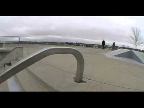 Altoona Skatepark Footage.