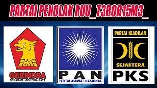 Video Biadab! Ternyata Gerindra, PKS dan PAN Menolak Revisi UU T3R0R15M3_? MP3, 3GP, MP4, WEBM, AVI, FLV Mei 2018