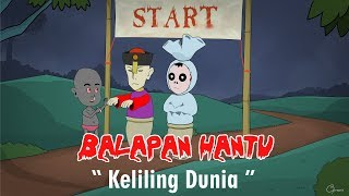 Video Balap Karung Hantu Keliling Dunia - Kartun hantu lucu MP3, 3GP, MP4, WEBM, AVI, FLV September 2018