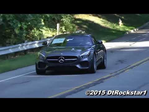 234 2016 Mercedes AMG GT S Exhaust sound