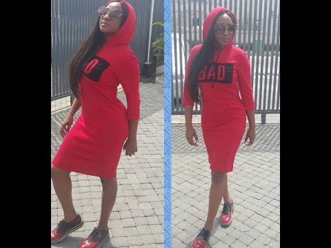 Ini Edo Rings In The New Year With A Stylish look After Brushing Off Her Past Challenges