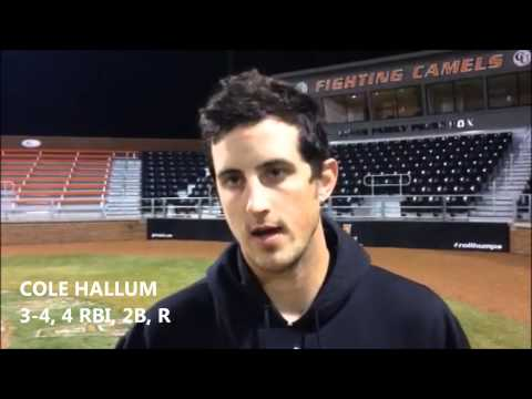Campbell Baseball vs. Elon 3/2/15