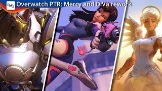 Overwatch PTR: What you need to know about the Mercy and D.Va rework
