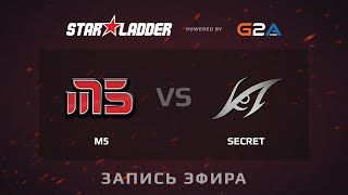 Secret vs M5.int, game 3