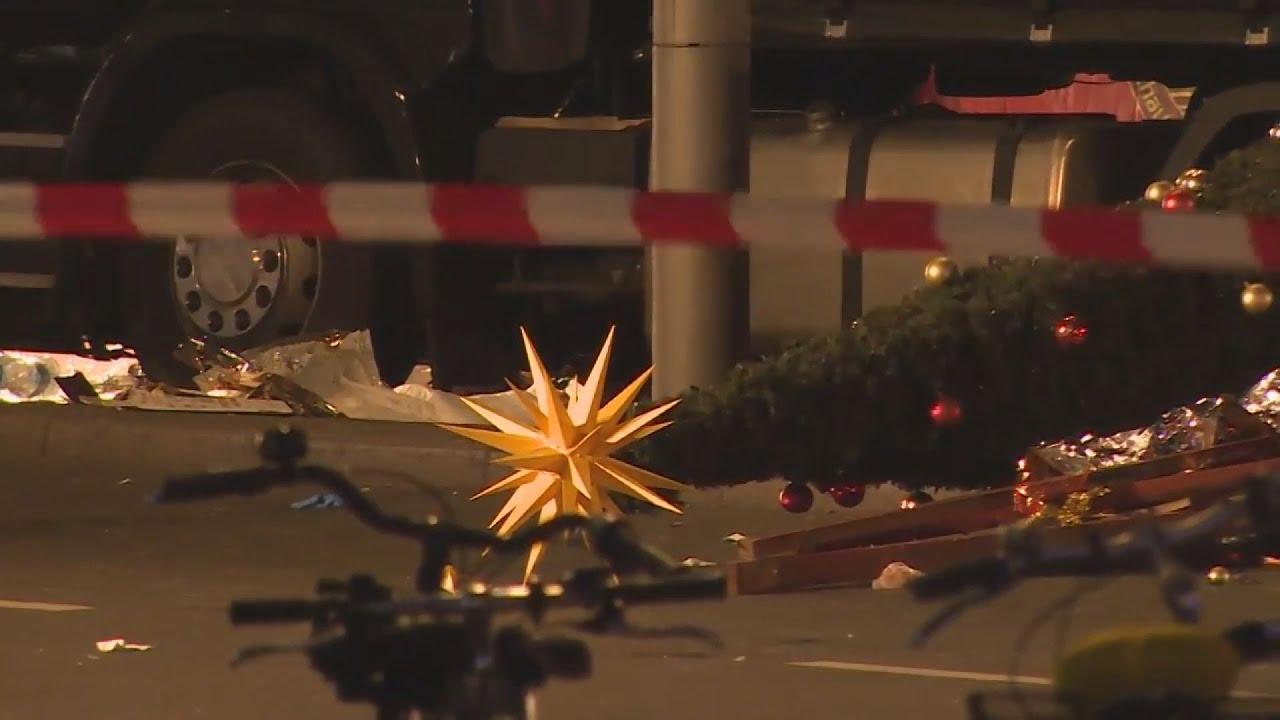 Δώδεκα οι νεκροί από την επίθεση στο Βερολίνο, κρατείται ένας ύποπτος