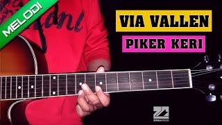 Video VIA VALLEN - PIKER KERI | Instrumen Melodi Tutorial MP3, 3GP, MP4, WEBM, AVI, FLV November 2018