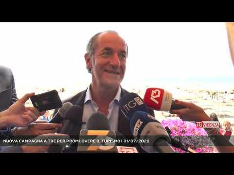 NUOVA CAMPAGNA A TRE PER PROMUOVERE IL TURISMO | 01/07/2020