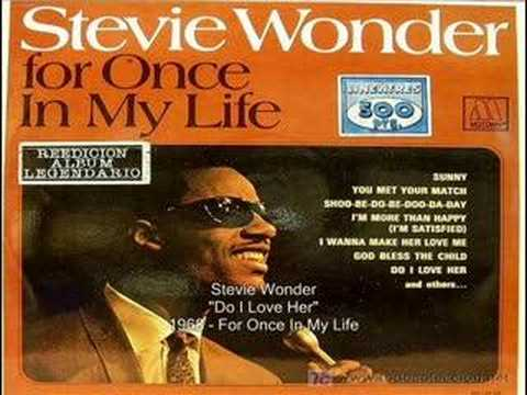 Stevie Wonder - Do I Love Her