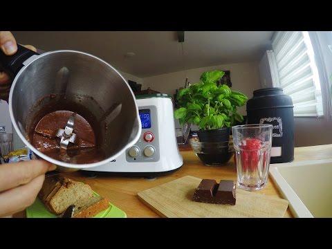 Nutella-Ersatz herstellen - Test   Küchenmaschine mit Kochfunktion   Aldi Süd - studio Mixer