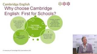 Introducing Cambridge English: First For Schools