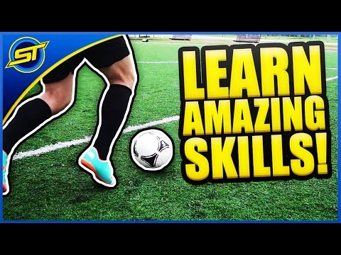 Learn Amazing Football Skills Tutorial ★ HD - Ronaldo/Messi/Neymar Skills!