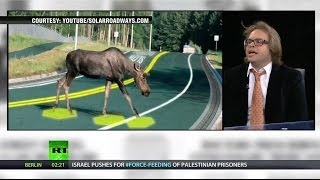 Lee Camp interviews John F. O'Donnell about his hatred of solar roadways