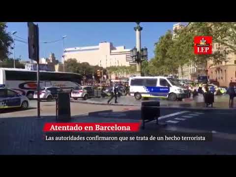 Terrorismo yihadista golpea España con 13 muertos y 100 heridos en Barcelona