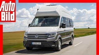 VW Grand California (2019): Test - Infos - Preis - Reisemobil - Caravan by Auto Bild
