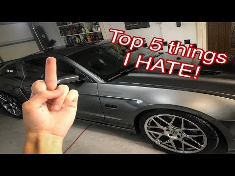 Top 5 things I HATE about my 2013 Twin Turbo Mustang GT!