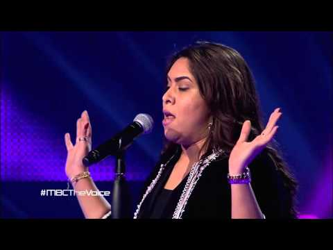 """نجاة رجوي تغني """"الأطلال"""" لأم كلثوم على مسرح The Voice"""