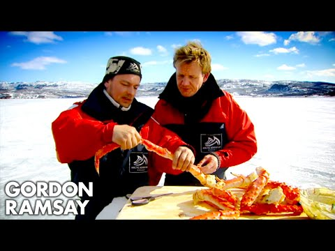 Catching and Cooking King Crab | Gordon Ramsay
