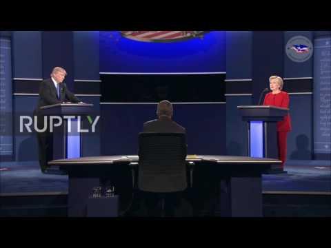 Razmjena uvreda Klintonove i Trampa u prvoj TV debati (video)