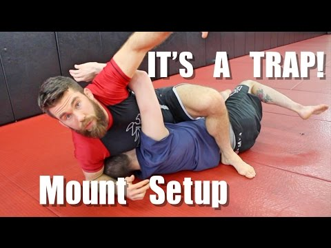 Effective but Sneaky Way to Take Mount in BJJ (видео)