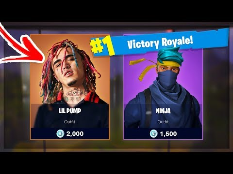 Ninja Plays Fortnite With Lil Pump || Fortnite Best Funny Moments #12 (fails, Wins & Wtf Moments)