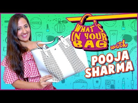 Pooja Sharma Handbag SECRET REVEALED | What's In Y