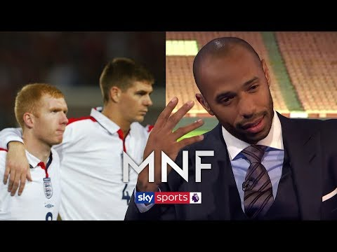 Paul Scholes & Steven Gerrard? Thierry Henry Decides Who Is Better! | MNF