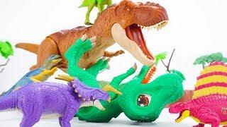 Video Dino Mecard Double Action Figure  Einiosaurus Carcharodontosaurus Dimetrodon Psittacosaurus |ToyMoon MP3, 3GP, MP4, WEBM, AVI, FLV Maret 2019