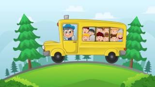 Едет автобус. Музыкальный мультфильм для детей.
