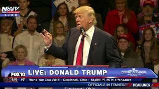 Cincinnati (OH) United States  city images : FULL: Donald Trump Thank You Tour 2016 - Cincinnati, Ohio 12/1/16