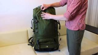 Туристический рюкзак для переноски тяжелых грузов. Объем 90+15л. Tatonka Bison 90