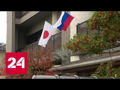 Владимир Путин начинает визит в Японию (видео)