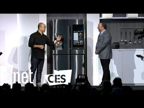 See the best moments of Samsung's CES 2018 press conference (видео)