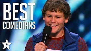 Video TOP COMEDIANS on America's Got Talent! | Got Talent Global MP3, 3GP, MP4, WEBM, AVI, FLV Maret 2019